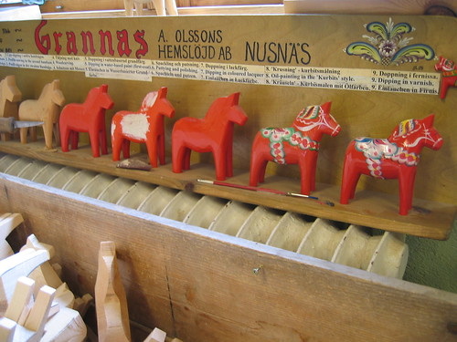 Kurbits – painting the Dala Horse