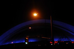 Sky Dome at night