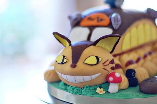 Cat bus cake~