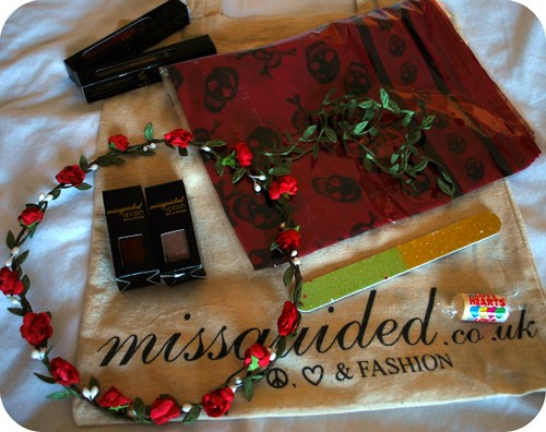 misguided goodies bag