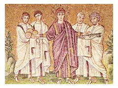 Mosaico, San Apolinar, Ravena (s. VI)