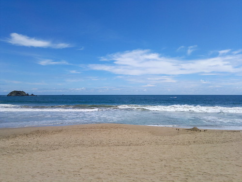 Beach in Ixtapa
