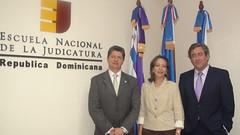 Nelson Mena, Gervasia Valenzuela y Javier Zaragoza