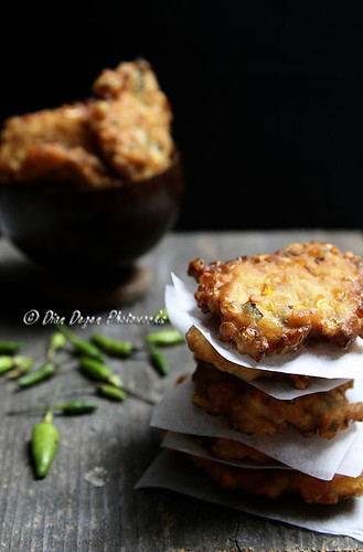 Perkedel Jagung (fried sweet corn )