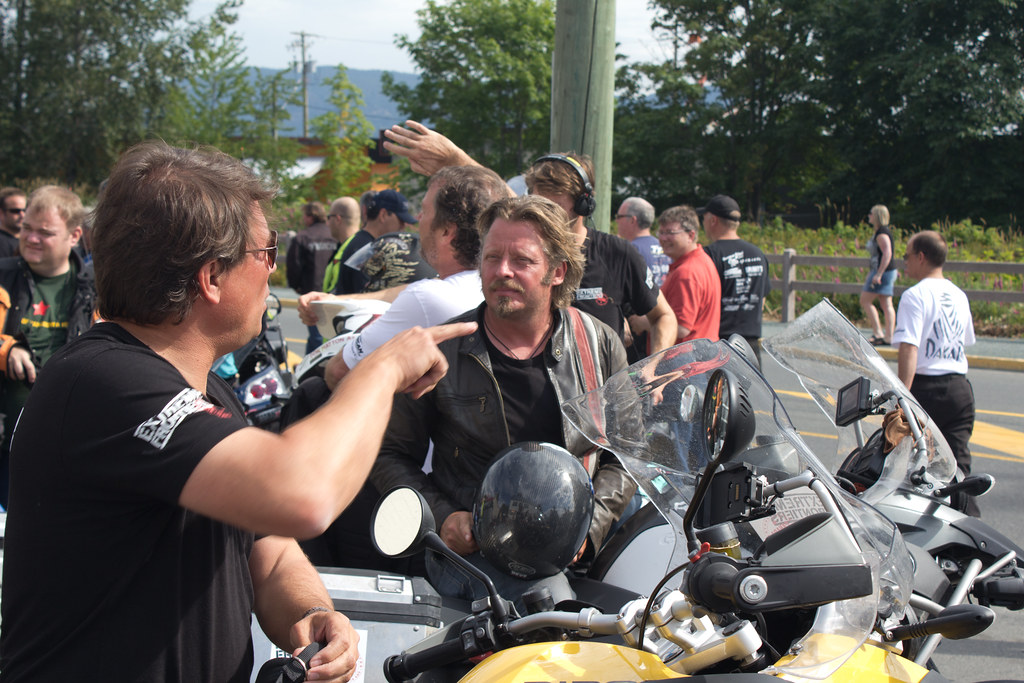 Charley Boorman and Russ Malkin in Duncan, BC