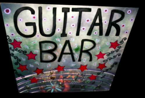 Commissioned Bar Sign For Lauren in Atlanta, GA by Rick Cheadle Art and Designs