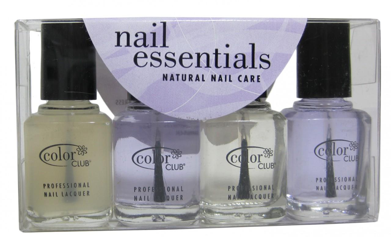 Color Club Nail Essentials (mini set of 4)