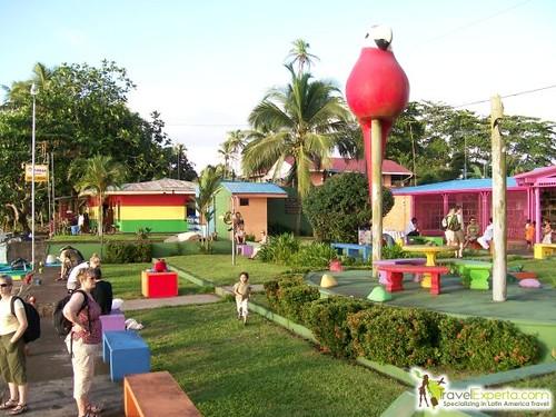 Tortuguero Village Central Park