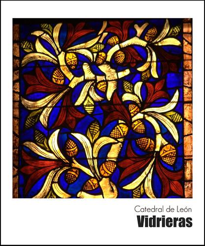 Vidrieras en la catedral de León