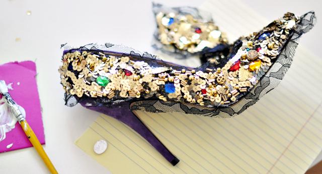 Dolce and Gabbana Embellished Pumps-Shoes-DIY-14