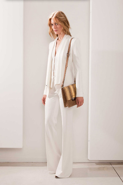 white fashion dress lace style resort collection suit stylecom barbarabui tarajean resort2012