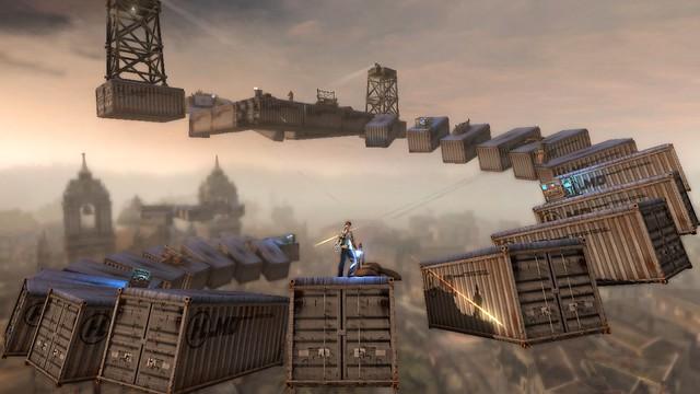 inFAMOUS 2 UGC: Skyfort