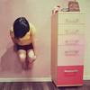 30/52 - Deseos de cosas imposibles. (Lunayda) Tags: pink girl strange wall photoshop nikon room levitation things fantasy float impossible