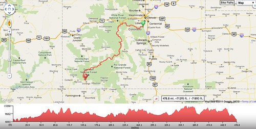 2011 CTR route and elevation