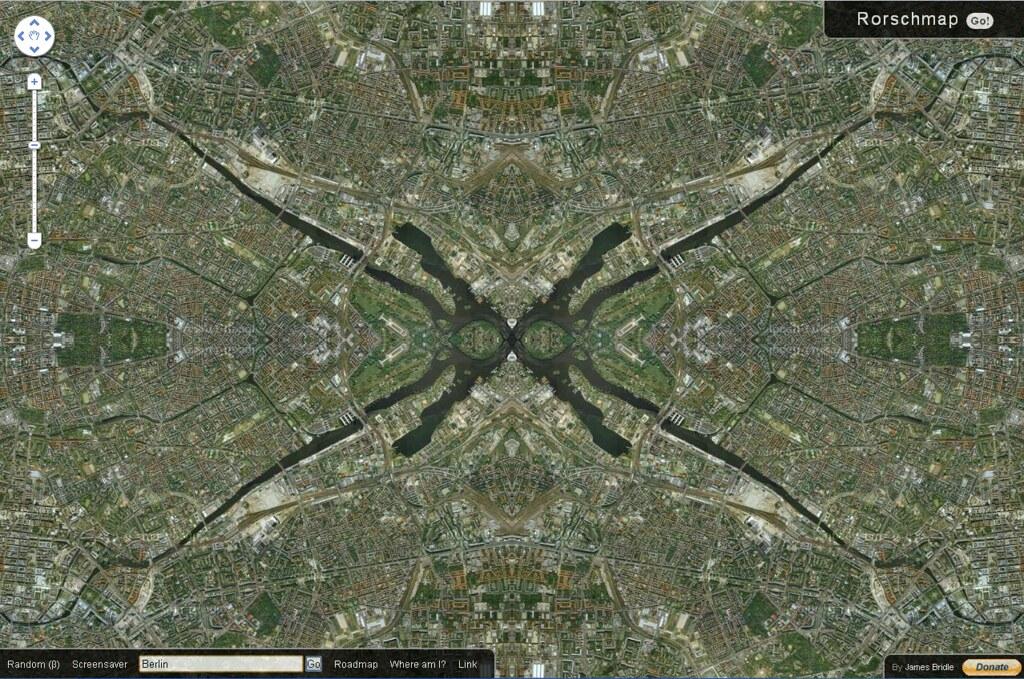 Google Maps - Rorschmap Berlin