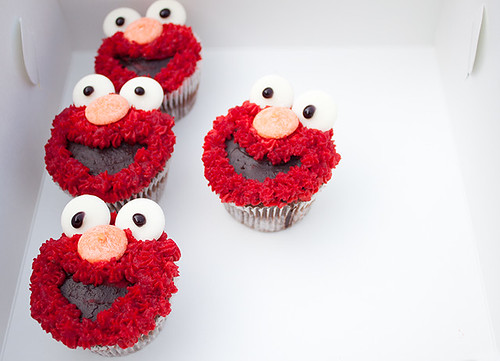 Elmo Cake Tin Recipe