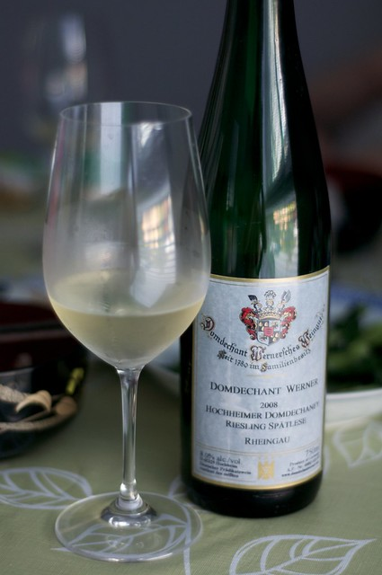 2008 Domdechant Werner'sches Riesling Spatlese