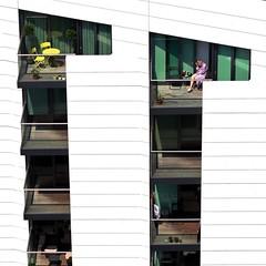 Balcony (Find James Photography) Tags: london balcony wharf canary