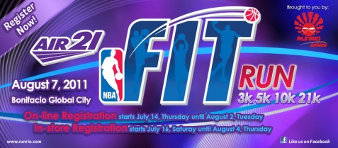 NBA Fit Run 2011