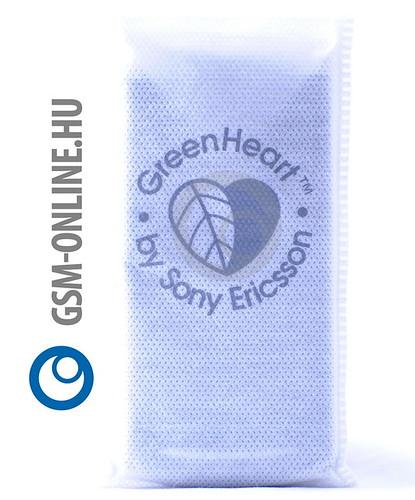 Sony Ericsson Xperia Neo Green Heart bugyiban