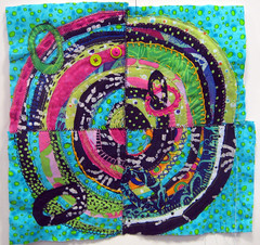 recycled circles~ student work