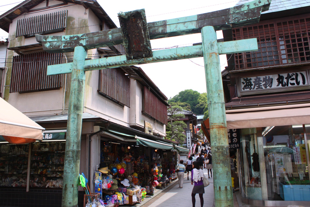 A walking guide of Enoshima (3)