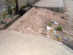 Sidewalk in Mirpur, Dhaka