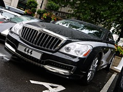 Maybach Xenatec Coupe 57SC (Niklas Emmerich Photography) Tags: summer white black london cars arab coupe dorchester cinque zonda amg qatar roadster maybach pagani facelift 57sc 2011 hypercar worldcars xenatec