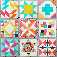 Summer Sampler Series 3 Weeks In (Fresh Lemons : Faith) Tags: tutorials quiltblocks patbravo pureelements summersamplerseries