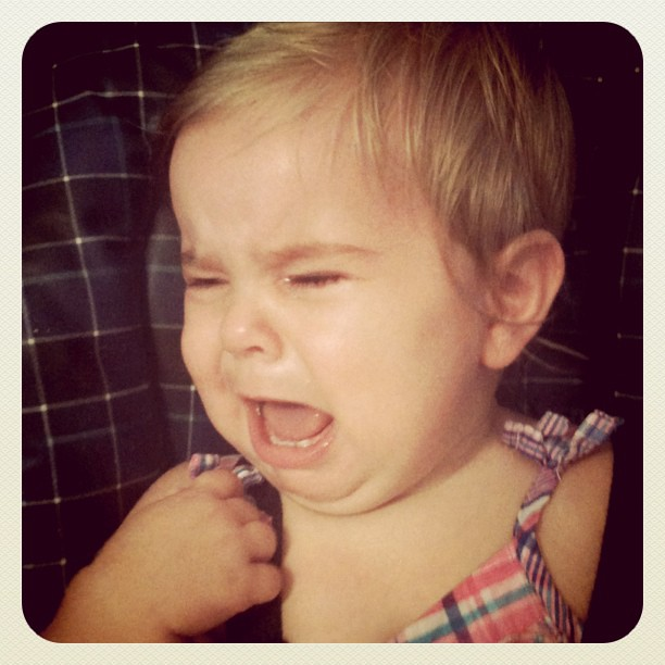 cranky baby girl