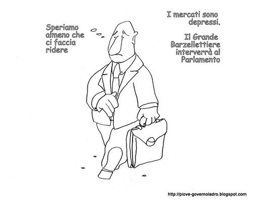 Mercati Depressi, ci pensa il Grande Barzellettiere by Livio Bonino