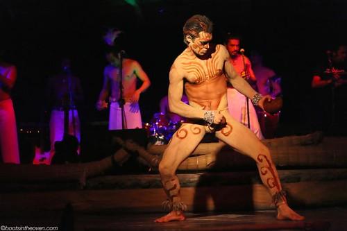Dance show in Hanga Roa