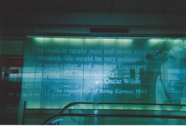 dublin airport goes wilde