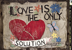 Love is the only solution.