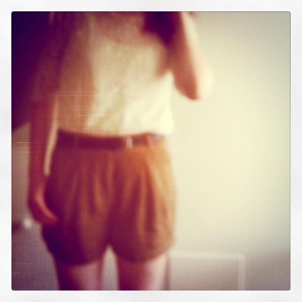 lace+shorts