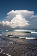 Incoming storm on the beach (luigig75) Tags: italy storm beach canon day porto tuscany thunderstorm toscana spiaggia f4 1740 ercole argentario tempesta feniglia capalbio nuovole canon1740mmlf4 projectweather luigig75
