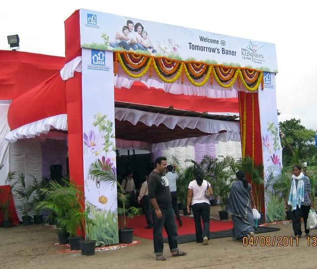Welcome @ Tomorrow's Baner! - Launch of DSK Kunjaban - 1 BHK 2 BHK Flats - Punawale - off Mumbai Bangalore Bypass - Pune 411 045