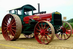 The Pioneer! (Chicago Rail Head) Tags: illinois diesel antique steam restoration motor antiquetractor agriculture preservation farmmachinery farmtractor ontheroadagain bigtractor hugewheels channahonil pioneertractor tractorsonprade