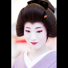 (Masahiro Makino) Tags: japan photoshop canon eos kyoto kiss shrine geiko adobe   tamron 90mm f28  lightroom kitanotenmangu x3 baikasai 2  umeha    plumblossomviewingfestival  outdoorteaceremony 20110806 20100225141937canoneoskissx3ls640p