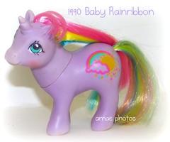 1990 Baby Rainribbon (♥amae♥) Tags: toy toys pony ponies hasbro mlp mylittlepony mylittleponies