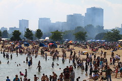 Hot Day at McKinley Beach (johndecember) Tags: park summer usa beach wisconsin published gallery calendar album august lakemichigan selected milwaukee lakefront mckinleypark mke 2011 mckinleybeach americancitycalendars accpublishingcom mke20110806 milwaukeecalendar the2013milwaukeecalendaramericancitycalendarsaugust2013
