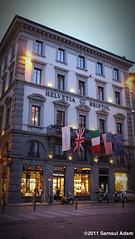 Hotel Helvetia & Bristol (Samsul Adam) Tags: italy bristol de hotel florence via firenze helvetia pescioni