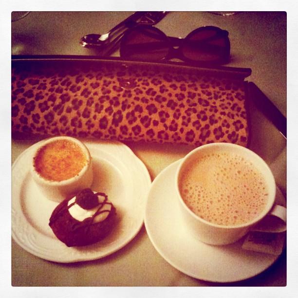 Dessert. Last night. @PanAmABC party #BlogHer11