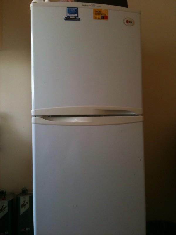 LG refrigerator front