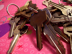 Pink's Keys (peanutbasher) Tags: pink stilllife color photography key ring