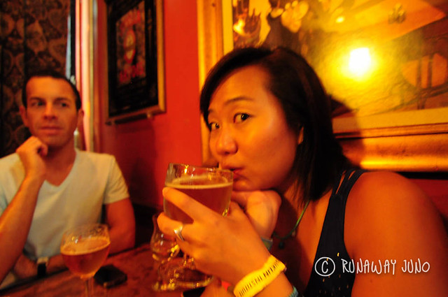 Belgian beer at Eulogy