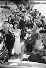 Thea and Quinn, married (RoryO'Bryen) Tags: film analog 35mm rangefinder leicam messsucher wedding matrimonio thames river roryobryen copyrightroryobryen trix