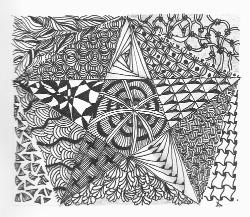 star zentangle