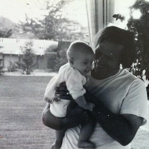 Dad + me