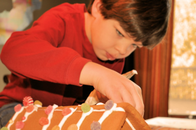 gingerbread house Jacob